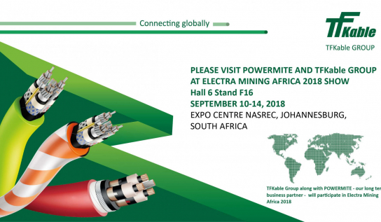 TFKable Group and POWERMITE at Electra Mining Africa show