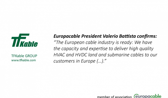 ENTSO-E / Europacable Joint Paper on Demand and Capacity